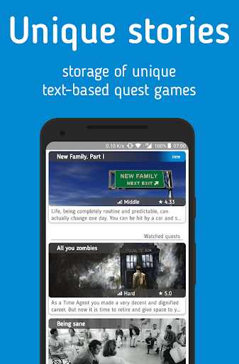 qStorium - text quests Preview 0