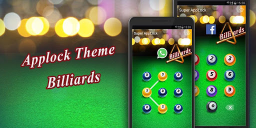 AppLock Theme Billiards