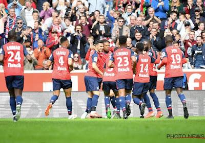 Ligue 1 : Lille surpris, Monaco prend à nouveau l'eau