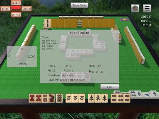 Riichi Mahjong 0.3.0 screenshots 10