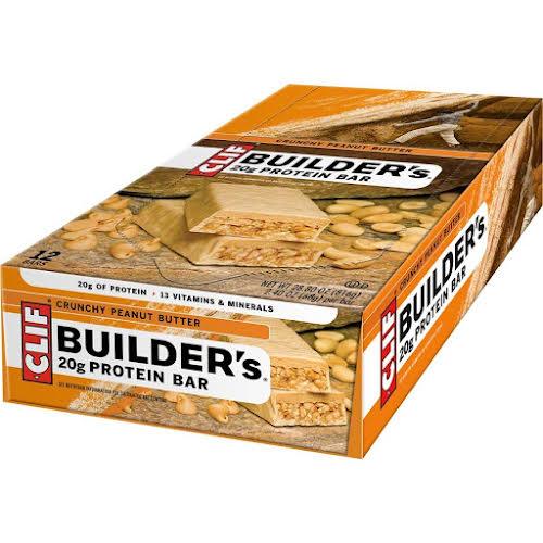 Clif Bar Builder's Bar Crunchy Peanut Butter Box of 12