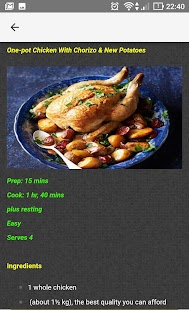 Chicken Cuisine Recipes - náhled