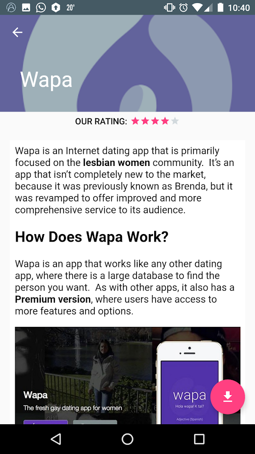 lesbian video chat app
