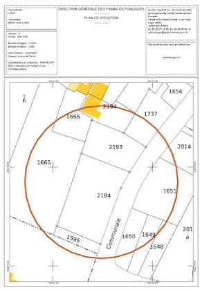 Vente terrain 1393 m2