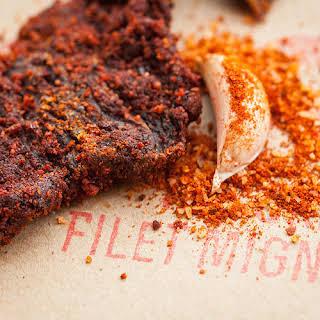 Filet Mignon Beef Jerky.