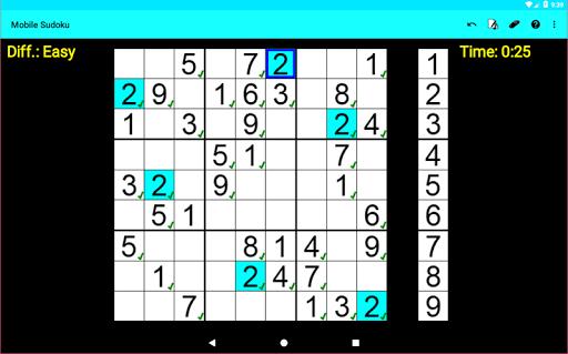 Mobile Sudoku 1.13.14 screenshots 5