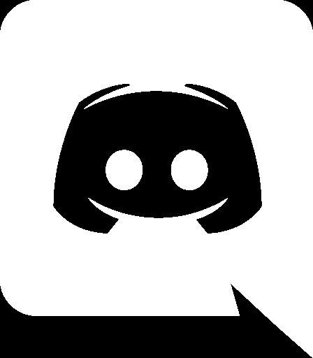 Discord icon white