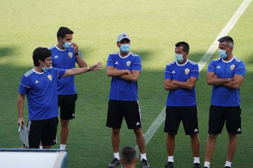 Entrenamiento del Almería (27 de junio)