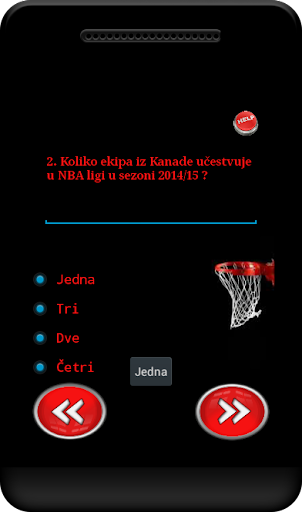 Kviz Američke košarke