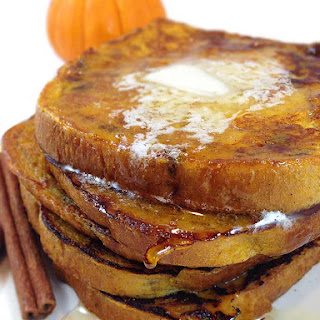 Cinnamon Swirl Pumpkin French Toast