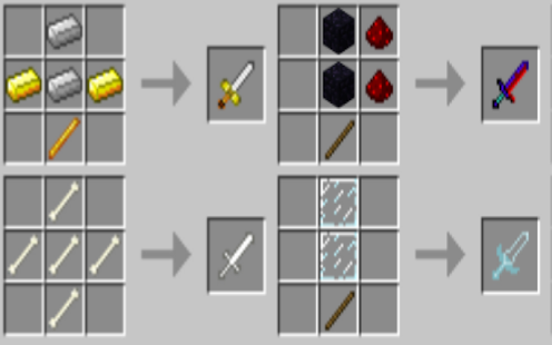 Weapon Sword Craft MCPE Screenshot
