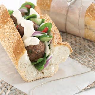 Greek Submarine Sandwich.