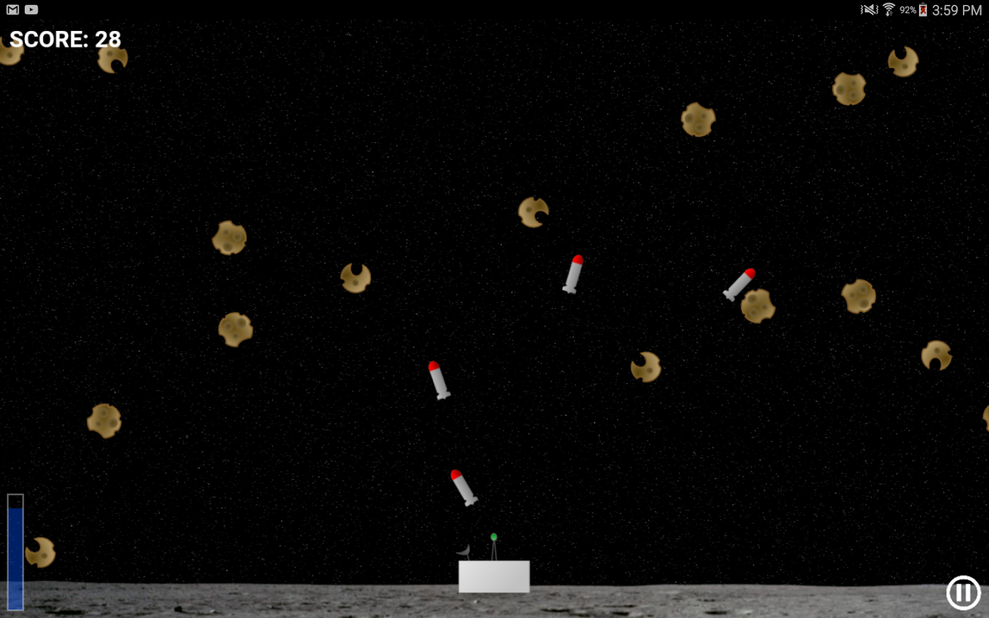 Asteroid Impact- screenshot