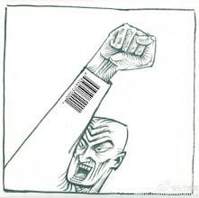 Photo: 分子漫画:举手可以是代表也可以是广告