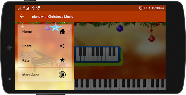 Musical Christmas Piano - náhled