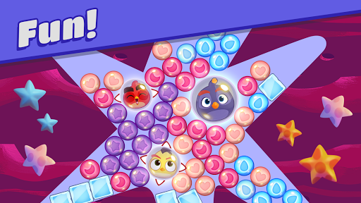 Angry Birds Dream Blast - Toon Bird Bubble Puzzle apkslow screenshots 3