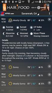 WTOC Doppler Max 11 Weather - screenshot thumbnail