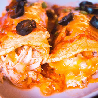 Spicy Chicken Enchiladas