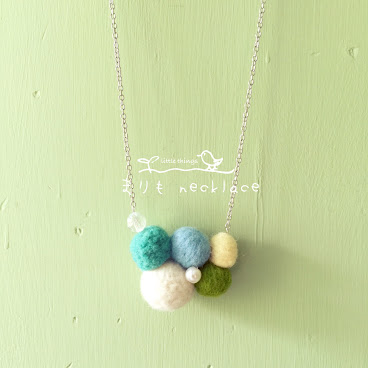 まりも necklace(sold)