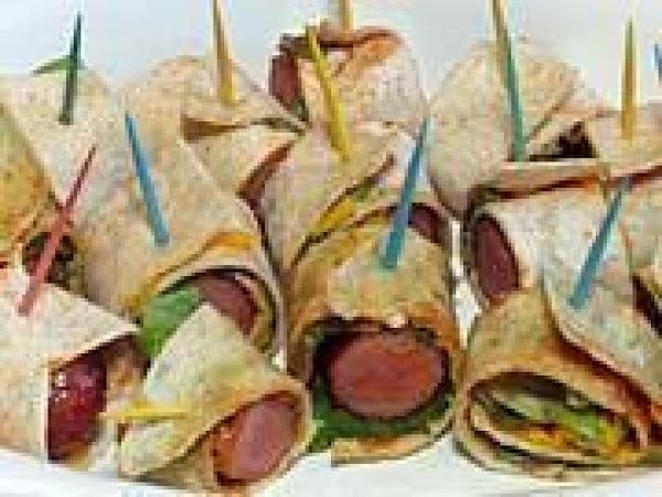 Salsa Hot Dog Wraps Recipe