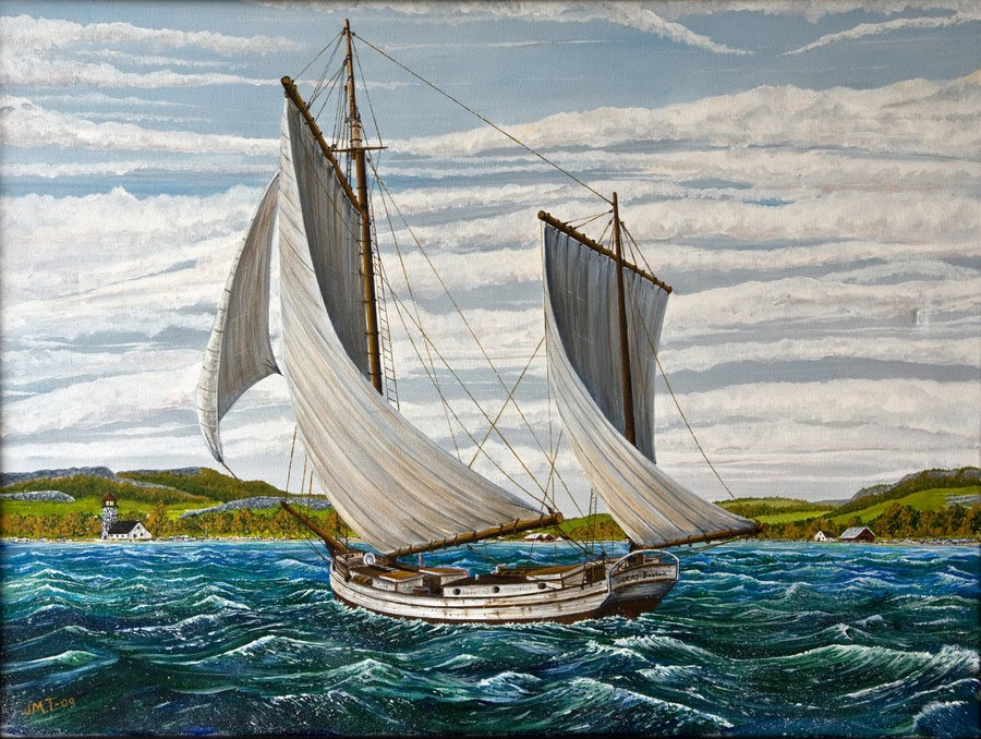 Joshua Slocum, o capitão que navegou pelo mundo e não sabia nadar