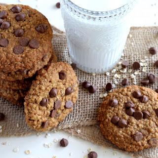 Jumbo Chocolate Chip Oatmeal Cookies.