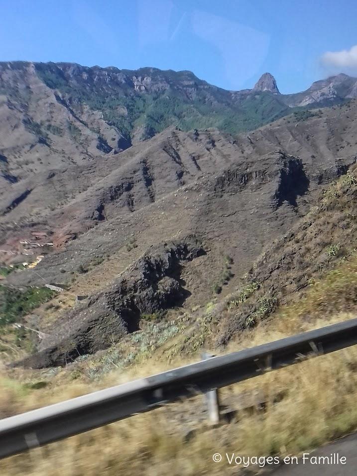 La Gomera, bus Hermigua