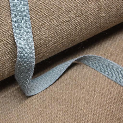Möbelband Bomull - ljusblå