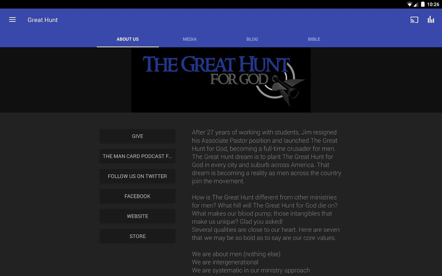 The Great Hunt for God- screenshot