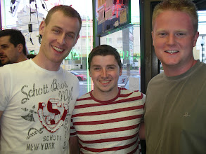 Photo: Three Irish guys who just got here to Ocean City,  and who helped me for the Memorial Weekend on Phones!  Brendan Delaney Jamie O`Shea Colm Carry  Thanks dudes, I know it was brutal!
