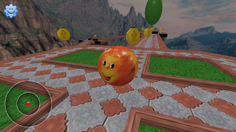 FaceBall Balance 3D- screenshot