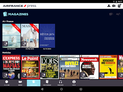 Air France Press – Vignette de la capture d'écran