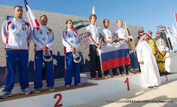 Photo: L'équipe 3Style fini 2nd après un féroce combat avec l'équipe Russe en Freefly, 4ème DIPC 2013