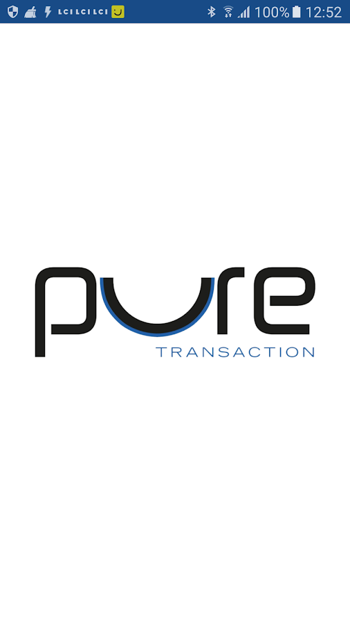 PURE TRANSACTION – Capture d'écran