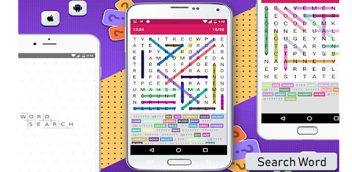 Just play and exercise your brain with Word Search puzzle.