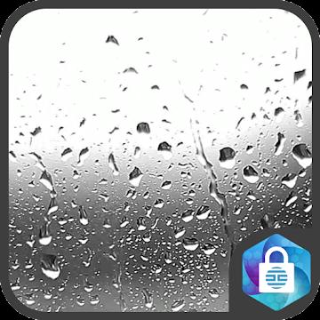 Raindrops Live Wallpaper Lock Screen