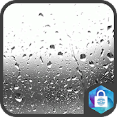 Raindrops Live Wallpaper Lock Screen