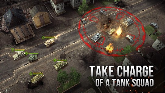 Armor Age: Tank Wars — WW2 Platoon Battle Tactics Apk Download For Android and Iphoe 2