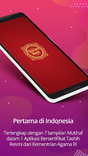 Quran Best Indonesia & Waktu Sholat 0.8.2 screenshots 1