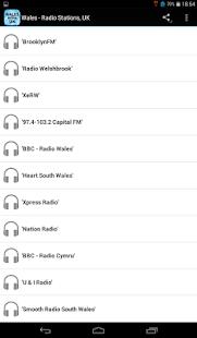 Wales - Radio Stations, UK - náhled