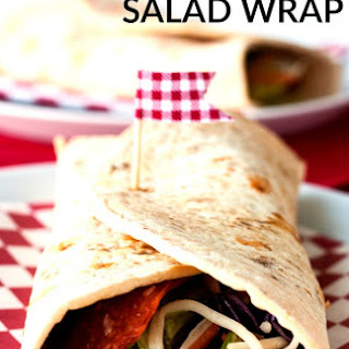 Pizzeria Salad Wrap