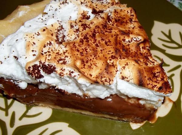 Chocolate Cream Pie, By Cass Recipe