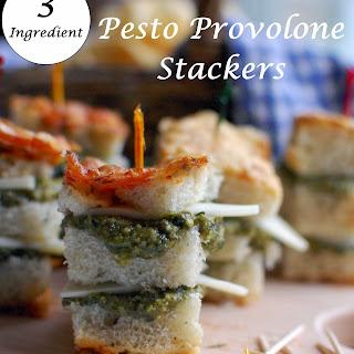 Pesto Provolone Stackers.