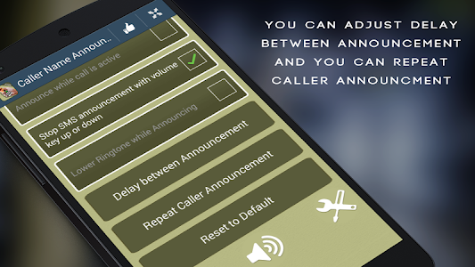 Caller Name Announcer - Free screenshot 11