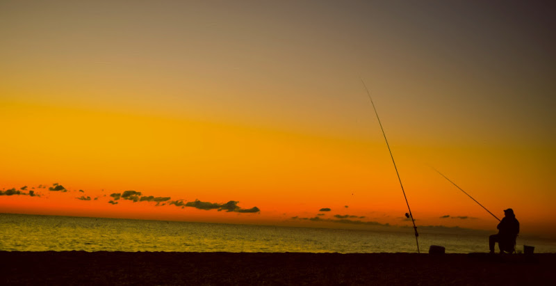 Pescare in solitudine. di SERWY