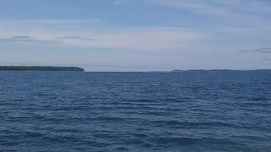 Photo: Looking onwards west towards Gore Bay