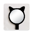 Mirror - camera, reflection, focus icon
