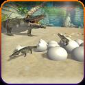 Crocodile Simulator Attack 3D icon