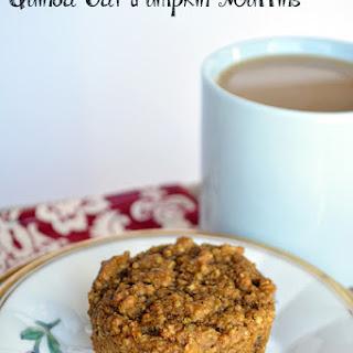 Quinoa Oat Pumpkin Muffins