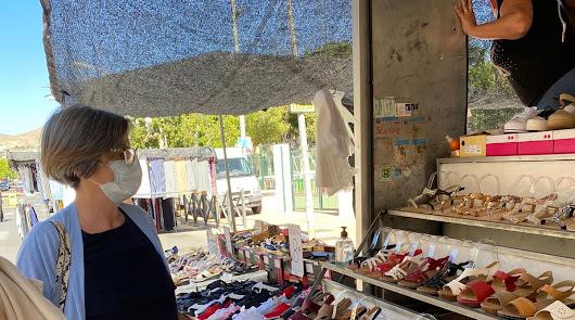 El mercadillo de Huércal de Almería reabre al público este viernes